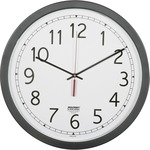 "SKILCRAFT 16.5"" Round Workstation Wall Clock NSN6238824"