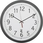 "SKILCRAFT 16.5"" Round SelfSet Wall Clock NSN6238825"