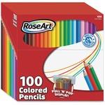 RoseArt 100 Presharpened Colored Pencils (01055)