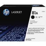 HP 81A Toner Cartridge - Black HEWCF281A