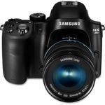 Samsung Smart NX30 20.3 Megapixel Mirrorless Camera (Body with Lens Kit) - 18 mm - 55 mm - Black SASEVNX30ZZBGB