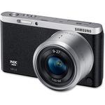 Samsung NXF1 20.5 Megapixel Mirrorless Camera (Body with Lens Kit) - 9 mm - 27 mm - Black SASEVNXF1ZZB2I