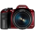 Samsung WB1100F 16.2 Megapixel Compact Camera - Red SASECWB1100BPR