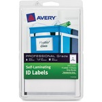 Avery Handwrite Only Self-laminating ID Labels AVE00745