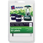Avery Handwrite Only Self-laminating ID Labels AVE00747