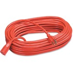 Compucessory Heavy Duty Extension Cord, 100', Orange CCS25150