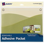 """Avery 10 x 12-1/4"""" Removable Adhesive Wall Pocket AVE40214"""