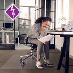Computex Antistatic Advantagemat Std Pile Chairmat