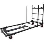 Lorell Blow Mold Rectangular Table Trolley Cart LLR65956