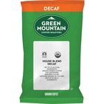 Green Mountain Coffee Roasters Fair Trade Organic House Blend Decaf Coffee (T5493)