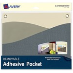 """Avery 10x12-1/4"""" Removable Adhesive Wall Pocket AVE40215"""