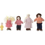 Childrens Factory Pose n Play White Family Doll Set CFI100422P