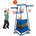 Children's Factory 4-ring Storage Basketball Stand (BA9001)