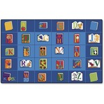 Carpets for Kids Reading Book Rectngl Seating Rug (2613)