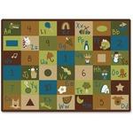 Carpets for Kids Learning Blocks Nature Design Rug (37701)