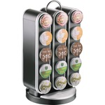 Mind Reader EMS Mind Vortex 30-Cup Coffee Pod Carousel (SPNR3BLK)