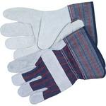 MCR Safety Leather Palm Economy Safety Gloves MCSCRW12010M
