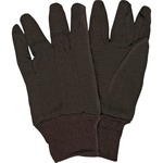MCR Safety General Purpose Brown Jersey Gloves crw7100d