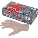 MCR Safety Powder-free Vinyl Disposable Gloves MCSMPG5010L