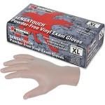 MCR Safety Powder-free Vinyl Disposable Gloves MCSMPG5010XL