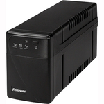 Fellowes Back-up power/surge protector. 8-11 minutes back-up power. $100,000 warranty FEL99066