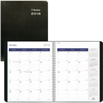 Blueline DuraGlobe Soft Cover Monthly Planner REDC23521T