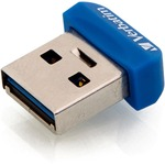 Verbatim 32GB Store 'n' Stay Nano USB 3.0 Flash Drive - Blue VER98710