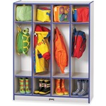 Rainbow Accents 4 Section Coat Locker (0268JCWW003)
