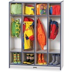 Rainbow Accents 4 Section Coat Locker (0268JCWW112)