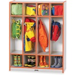 Rainbow Accents 4 Section Coat Locker (0268JCWW114)