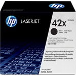 HP 42X High Yield Black Original LaserJet Toner Cartridge HEWQ5942X