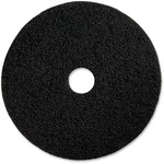 "Genuine Joe 17"" Black Floor Stripping Pad GJO90217"