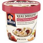 Quaker Oats Real Medleys Cherry/Pistachio Oatmeal (31553)