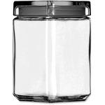 Office Settings Clear Glass Jar (GJ15Q)