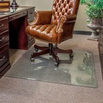 Clearly Innovative Executive Chair Mat 44 X 50 Clear