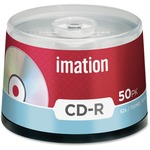 Imation CD Recordable Media - CD-R - 52x - 700 MB - 50 Pack Spindle IMN17301