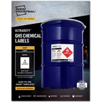 Avery UltraDuty GHS Chemical Laser Labels AVE60501