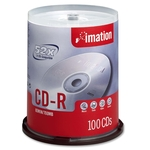 Imation CD Recordable Media - CD-R - 52x - 700 MB - 100 Pack Spindle IMN17262