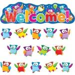 Trend Owl-Stars! Welcom Bulletin Board Set 8367