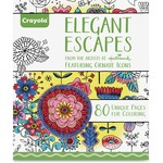 Crayola Elegant Escapes Coloring Book Coloring Printed Book