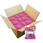 Scented Oil Air Freshener Diffuser, Fresh Petals and Peach, Pink, 2.5oz,6/Carton 900134CT