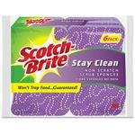 Scotch-Brite -Brite Stay Clean Scrub Sponges (202066CT)