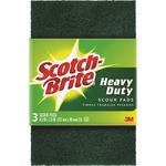 Scotch-Brite -Brite Heavy Duty Scour Pads (223CT)