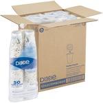 Paper Hot Cups & Lids Combo Bag, 12 oz, 50/Pack, 6/Packs per Carton 5342COMBO6CT