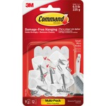 Command Strips 1/2 lb Small Wire Hooks (170679ES)