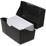"Advantus Index Card Holders, 3""x5"", Black 45001"
