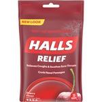 Cadbury Halls Cherry Cough Drops