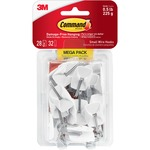 Command Damage-Free Small Wire Hooks Mega Pack (17067MPES)