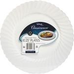 Classicware Wna Comet Hvywt Plastic White Plates