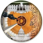 A Broader View Usa Capital 500-pc Round Puzzle